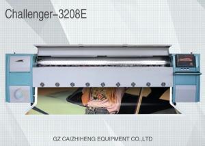 China 10ft Solvent Color Inkjet Flex Banner Printing Machine High Precision Challenger 3208E on sale