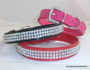 China Luxury Dog Collar Rhinestone Collars GCDC-011A on sale