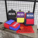 new Oxford cloth color contrast backpack fashion sports letters printed men's and women's outdoor leisure backpack