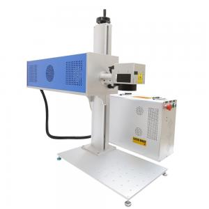 China 3D Dynamic RF CO2 Laser Marking Machine 150 W Lockable Cabinet For Shoes on sale