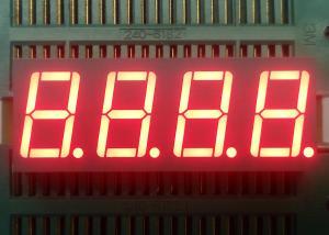 China Digital LED Number Display , Alphanumeric LED Display 5 Brightness Levels on sale