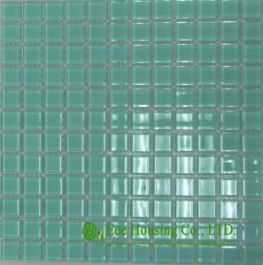 China 家の装飾、中国のガラス モザイク・タイルの工場のための耐酸性ガラス水晶モザイク・タイル on sale