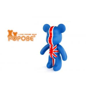 China Unique Plastic House Decoration 10 Inch Tablet Stent POPOBE Bear UK Flag on sale