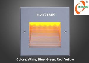 China Outdoor Square Rectangle Exterior Stair Light Recessed LED Wall Lights on sale