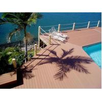 China Outdoor Decking Flooring Backyard Pools WPC Composite Decking on sale