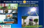GS8 シリーズ SMD2323 8000 匹の Nit 上の屋外の導かれたスクリーン表示