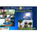 GS8 visualização óptica conduzida exterior da série SMD2323 sobre 8000 lêndeas