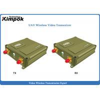 China 1440Mhz Lightweight UAV IP Transceiver 1 Watt OFDM Video Link up to 40km Long Range on sale