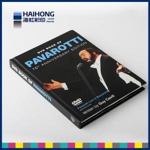 China Impressão unida personalizada do livro do livro encadernado da música do CD/DVD com revestimento matte on sale