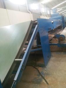 China 9m ISO9001 blue color Wool nonoven needle punching Felt  Making Machine on sale