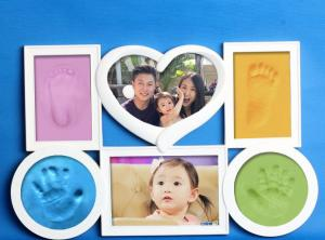 China Wholesale baby hand and foot memory kit for 2017  baby product Chrismas family gift on sale