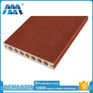 China Eco-friendly Waterproof Hollow design WPC composite flooring tiles on sale