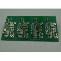 High TG Four Layer Matt Green FR4 PCB Board Immersion Gold Finish White Silkscreen