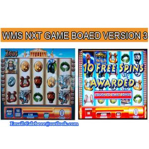 China Black Knight Gambling Game Board Slot  Game Machines WMS NXT Casino Game PCB on sale