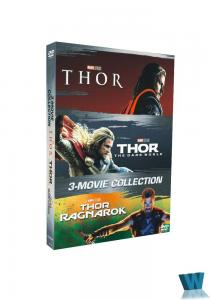 China 2018 hot sell Thor 1-3 3DVD DVD movies region 1 Adult movies Tv series Tv show Drop shipping on sale