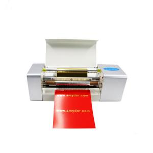 China T shirt print machines foil press machine digital hot foil stamping printer on sale