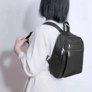 China 2018 hot sale fashion designed original manufacturer lady leather backpack on sale