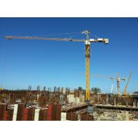 Safe Tower Crane Equipment With 40m Lifting Height 6T Max Lifting Load CE / ISO