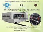 China 30kw Carton Box Flexo Printing Slotting Machine High Topping Precision wholesale