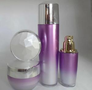 Quality plastic cosmetic jars bottles for sale