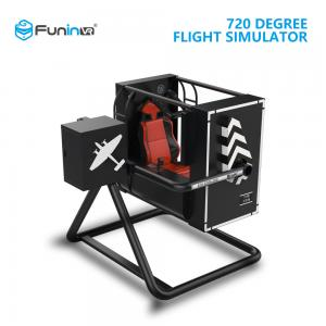 China 4 Seats Htc Vive Flight Simulator , 2.2m X 2.5m X 2.2m Vr Plane Simulator on sale