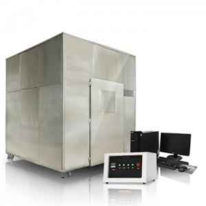 China GB / T17651.1 ~ 2 - 1998 Wire Testing Equipment ZY6166 For Fume Density Test on sale