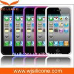 China Protective Silicone Cell Phone Case for Iphone 4/4S wholesale