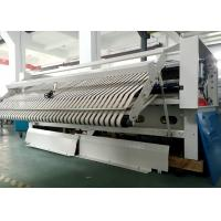 Industrial VFD Control Bedsheet Folding Machine For Hotel Hospital Army Railway Station Airport