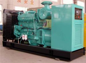 China 3 la fase 4 ata con alambre los generadores diesel industriales de 450 KVA refrigerados por agua para la fábrica on sale