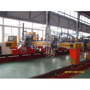 China CNC Flame Cutting Machines Cnc Pipe Cutting Machine For Steel Plate 4000 x 12000 on sale