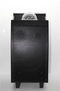 China 10 Inch Subwoofer Disco Light Bluetooth Speaker With USB / SD Card Function on sale