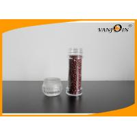 100ml Salt and Pepper Mills Spice Clear Plastic Food Containers / Plastic Jar with PC cap
