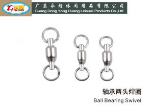 China River Sea Stainless Steel Fishing Swivels / ball bearing swivel fishing on sale