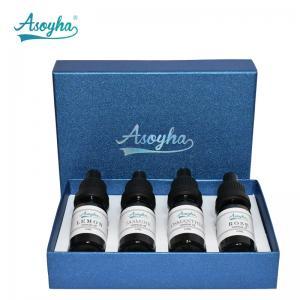 China Daily Flavor Organic Essential Oils Wellness Set Room Freshener Use 10ml*4 on sale