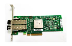 China 489191-001 8GB HBA HP AJ764A 82Q 8Gb Dual Port PCI-e Fibre Channel Host Bus Adapter HP AJ764A qlogic qle2562 on sale