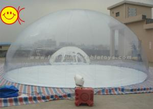 China Party Inflatable Bubble Tent Transparent Inflatable Clear Dome Tent on sale