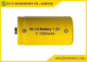 China 1.2V C 1200mah Nickel Cadmium Battery For Cordless Phones / Digital Cameras on sale
