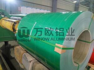 China Prepainted 1050 Color Coated Aluminium Coil 1000mm Width For Aluminium Alloy Ceiling on sale