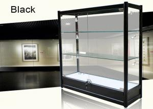 China Aluminum Alloy Jewelry Store Display Cases Showcase For Jewelry Shop on sale