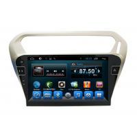 Quad Core Car Dvd Player Peugeot Navigation System 301 Kitkat Systems