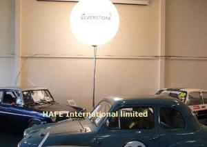 China 400W White Led Balloon Lights For Commercial Branding Promotion Events With Logo on sale