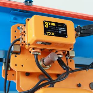 China Stable Lifting 3 Ton H-Beam Electric Hoist Trolley , Motorized Beam Trolley With CE Certificate on sale