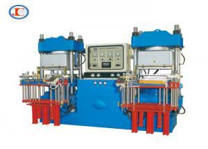 China Dual Vacuum Cover Vacuum Compression Molding Machine 250 Ton 3RT Automotive Rubber Bellow Molding Machine on sale