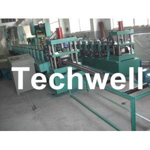 China 18 groupes formant le petit pain droit de support de support de rouleau formant la machine pour le support de stockage on sale
