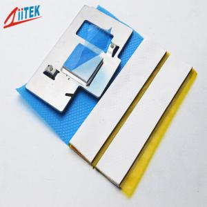 China High thermal conductivity customerized 4W thermal conductive pad silicone heat transfer gap filler TIF100-40-06E on sale