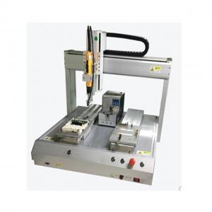 China XHL-5331 Four-Axis Dispensing Machine With Double Head And Double Working Position on sale