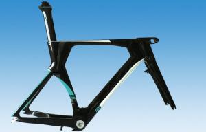 Quality 45cm 49cm 52cm 54cm 56cm Carbon Time Trial Bike Frame , TT Frameset for sale