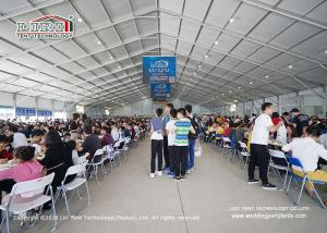 China 50m Width  A Shape Event Tent From LIRI TENT In China For Restaurant For Sale on sale