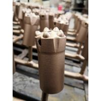 7 Degrees 33mm Tapered Drill Bits High Hill Face With High Penetration Rates
