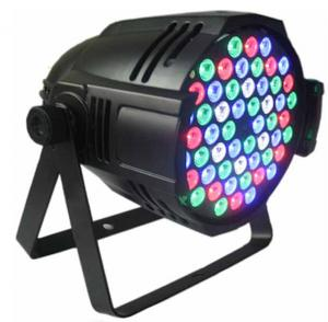 China 90 - 240VAC Par Light , RGB Par 64 Kino Led DJ Light  for BAR wedding on sale